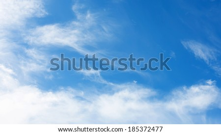 abstract sky background for weather forecast - stock photo