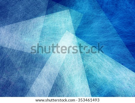 abstract sky blue and white background - stock photo