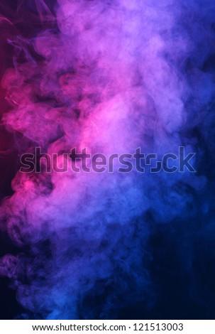 Abstract smoke background - stock photo