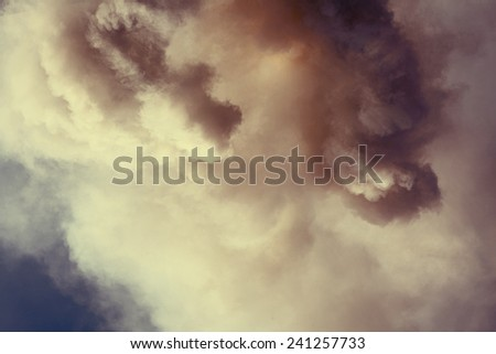 abstract smoke background - stock photo