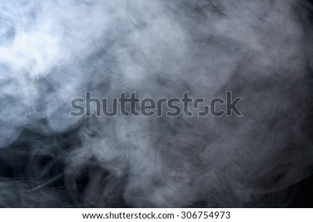 Abstract smoke on a black background. Texture. Design element. Abstract art. Smoke from hookah. Macro shooting. - stock photo