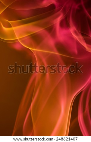 Abstract smoke Photography - stock photo