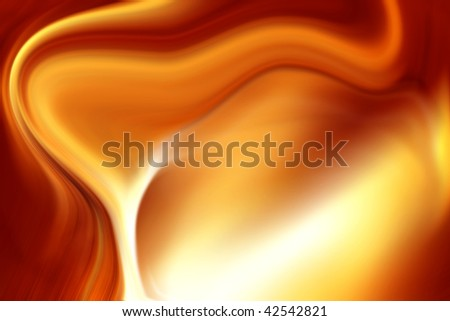 Abstract smooth brown tone flowing background. - stock photo