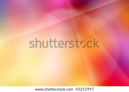 Abstract smooth colorful soft background. - stock photo