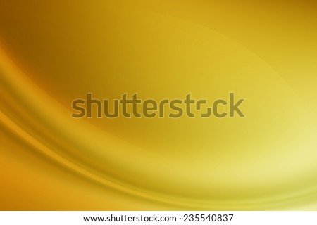 abstract smooth gold gradient background - stock photo