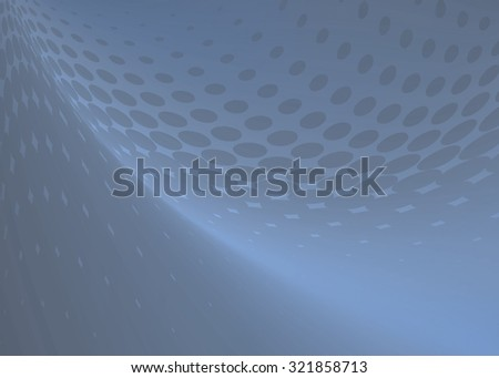 Abstract soft blue gray dot swirl medical or business background illustration perfect for any communication arts. - stock photo