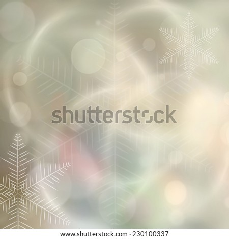Abstract soft cristmas colored background  - stock photo
