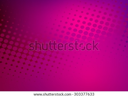 Abstract soft dark crimson dot swirl medical or business background illustration, perfect for all communication arts - stock photo