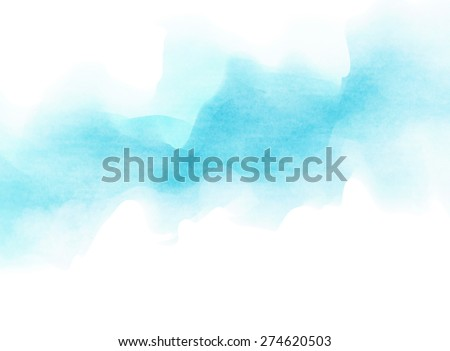 Abstract soft watercolor background.  - stock photo