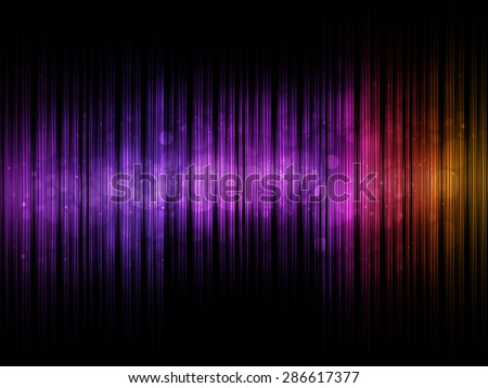 Abstract sound colorful equalizer with bokeh background - stock photo