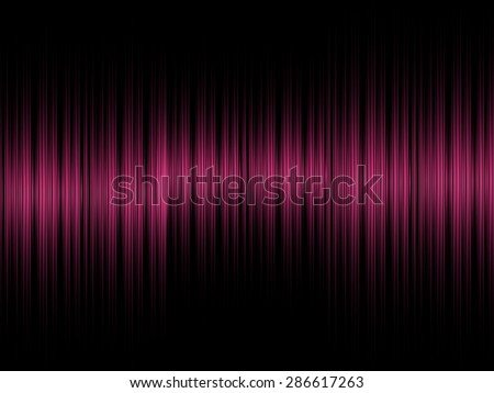 Abstract sound pink equalizer background - stock photo