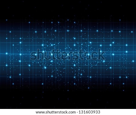abstract space of a digital background. (vector version also available in my gallery) - stock photo