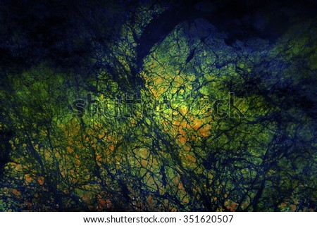 Abstract Space-Time Microstructure  Background for Custom Scientific Content - stock photo