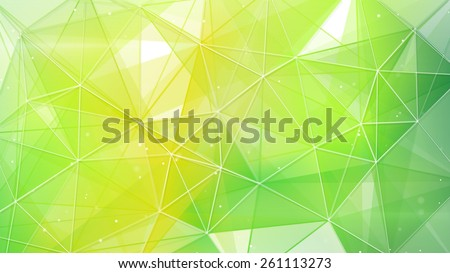 abstract spring geometrical background - stock photo