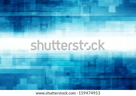 Abstract square tech design background.  - stock photo