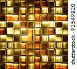 abstract squares - stock photo