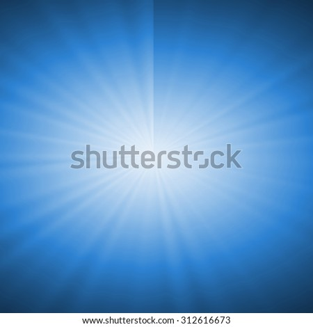 Abstract starburst background - stock photo