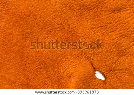 abstract tan leather background - stock photo
