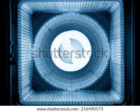 Abstract technology light - stock photo