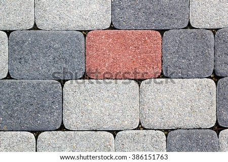 abstract texture of stone outdoor - stock photo