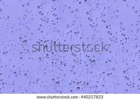 Abstract texture - water drops on glass, seamless texture - stock photo
