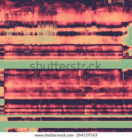 Abstract textured background designed in grunge style. With different color patterns: purple (violet); cyan; pink - stock photo