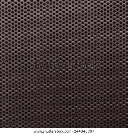 Abstract Textured Pattern with Hexagonal Cells As Industrial Background  - stock photo
