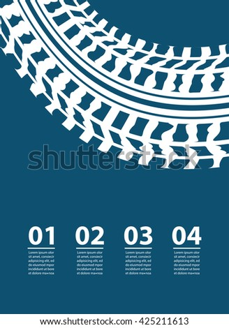 abstract transportation background with infographic elements - stock photo