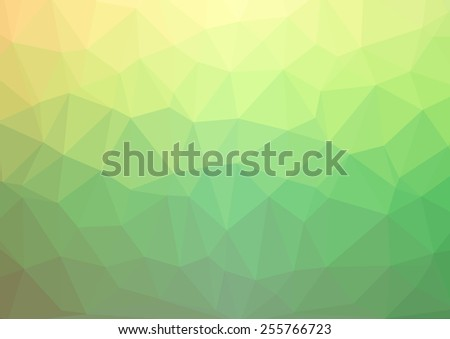 Abstract triangle background in soft pastel colors - stock photo