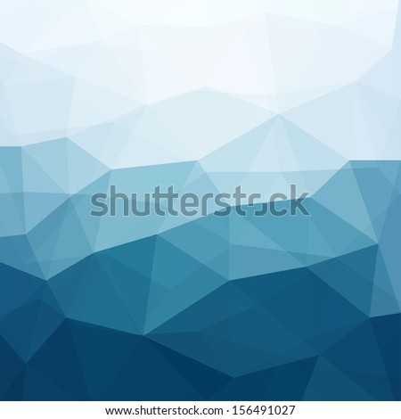 Abstract Triangle Geometrical Multicolored Background, Raster Version of Vector - stock photo