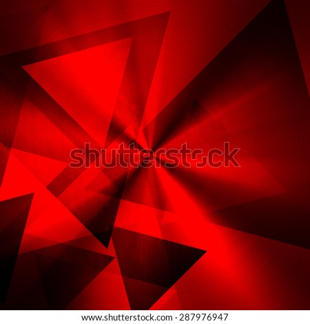 Abstract triangle pattern - stock photo