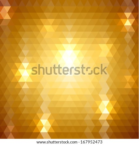Abstract triangle pattern background - raster version - stock photo