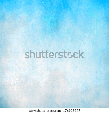Abstract turquoise pastel background - stock photo
