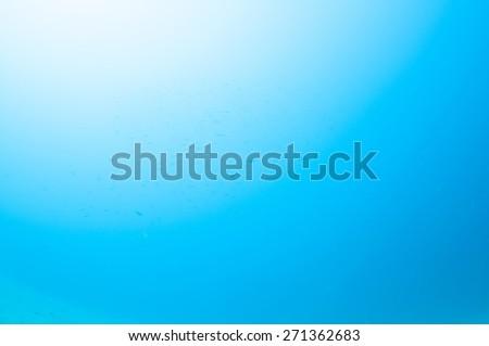 Abstract underwater scene - stock photo