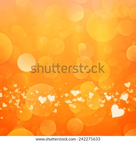 abstract valentine backgrounds with beauty bokeh for your design - stock photo