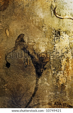 Abstract vintage background - stock photo