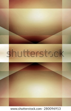Abstract vintage light brown and green background - stock photo