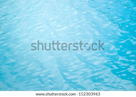 Abstract water background with sun light. Gokyo lake - stock photo