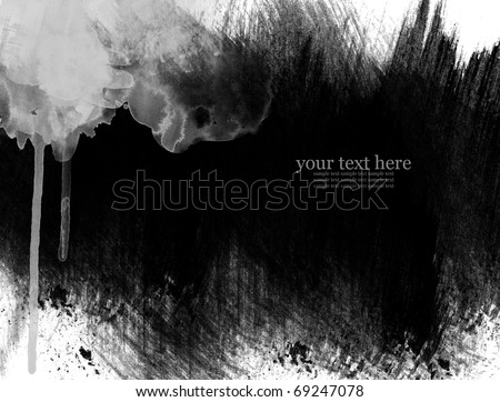 Abstract Water color background - stock photo