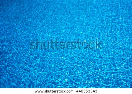 Abstract water in the pool background. - stock photo