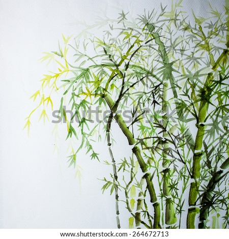 Abstract Watercolor background, - stock photo