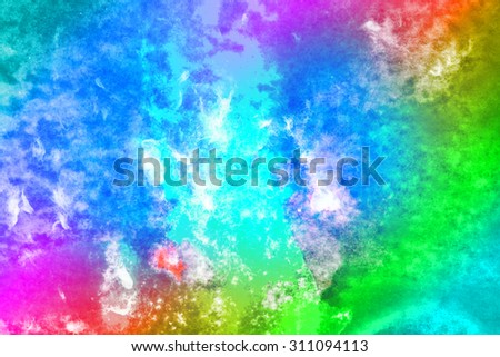 Abstract watercolor background in style. - stock photo