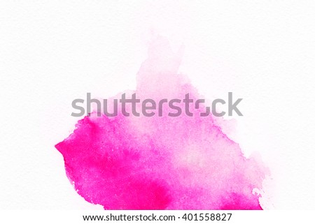 """Abstract watercolor hand painted background. Album """"Abstract Water Colour Backgrounds"""".Album """"Red, pink and orange spots"""".Watercolor Wash. Watercolor Ombre Background.Water Color Background. - stock photo"""