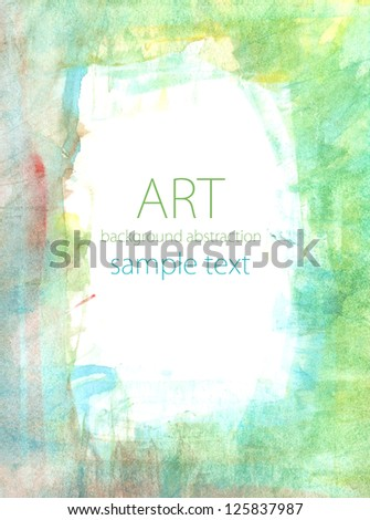 abstract watercolor white background - stock photo