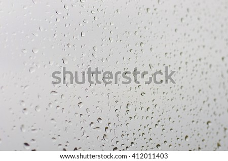 Abstract waterdrops background - stock photo