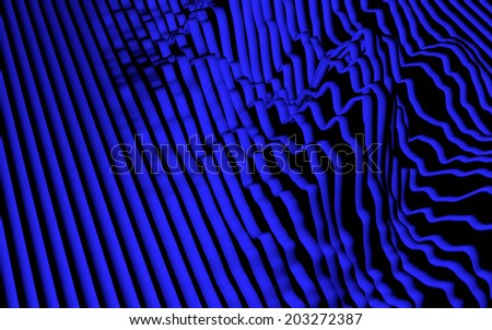 abstract wave background - stock photo