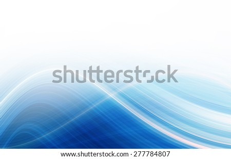 Abstract wave design - stock photo
