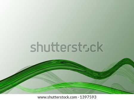 Abstract waves - stock photo