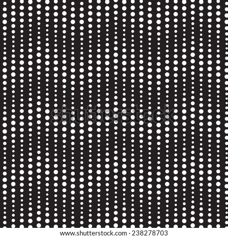 Abstract wavy seamless pattern, black- white  background. Raster version. - stock photo