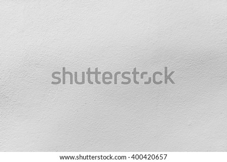 Abstract weathered texture stained old stucco light gray and aged paint white brick wall background - stock photo
